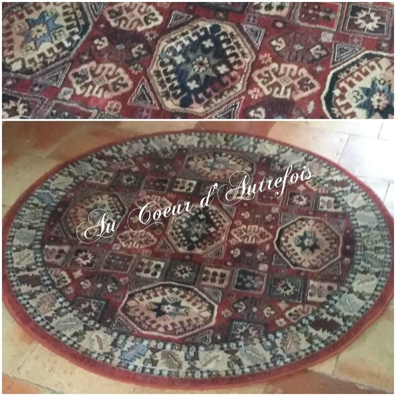 Tapis rond S