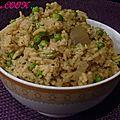 Peas pulao ( riz au petit pois )
