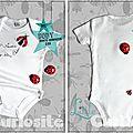 Body bébé Original - Porte-bonheur Cox