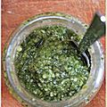Pesto de basilic Home made !