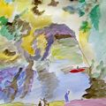 ARDECHE AQUARELLES - découvrir http://lodya.artgallery.free.fr