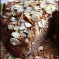 Gâteau fondant à la farine de châtaigne