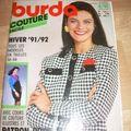Burda Couture facile Hiver 91-92