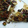 Tatin de pommes de terre aux cèpes