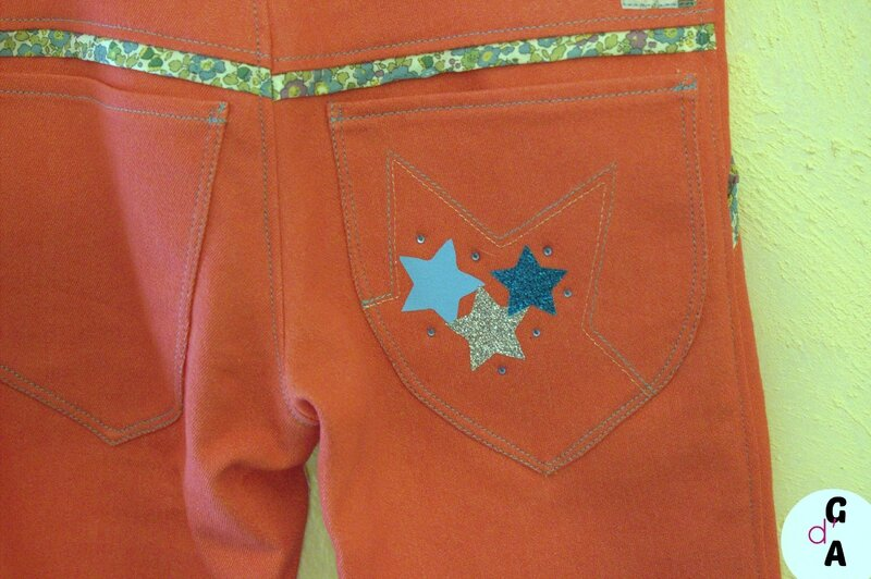 jeans Charlot' dos 1