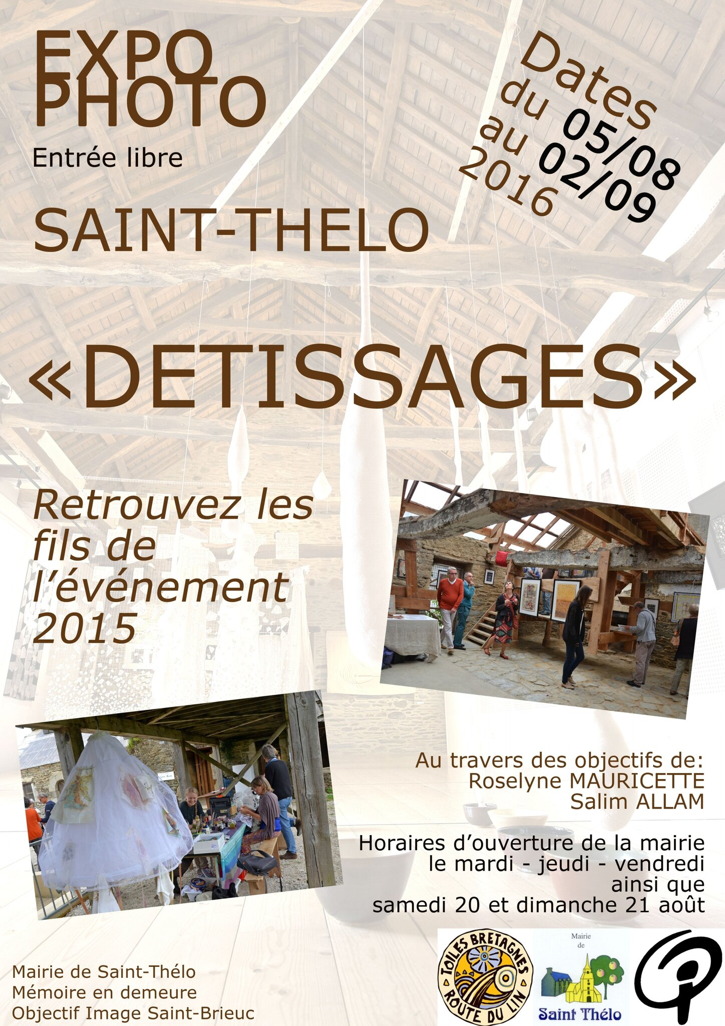 Expo photo à Saint-Thélo (22460)