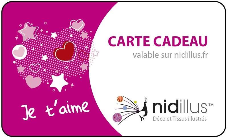 carte cadeau nidillus-saint valentin