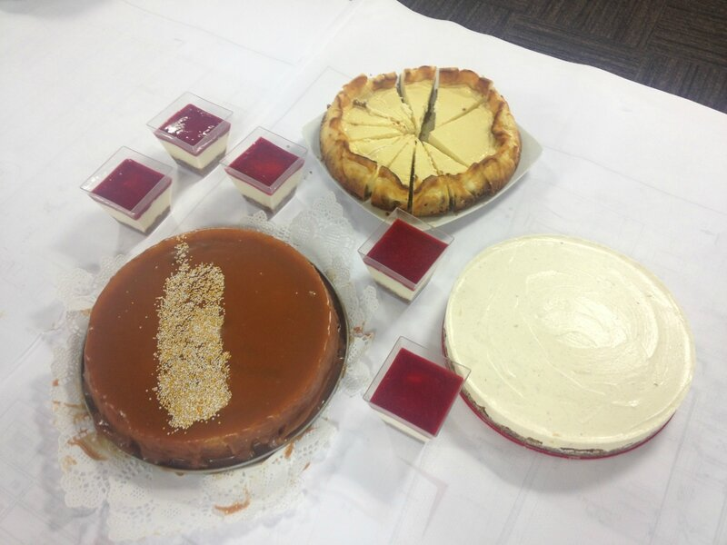 Concours cheesecakes