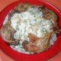 cuisses de canard à la moutarde et riz vapeur