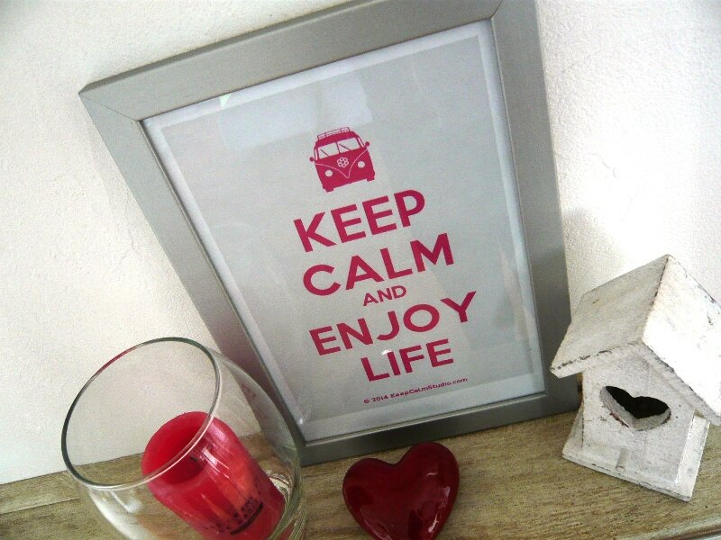 KEEP CALM AND ENJOY LIFE PRINTABLE DIY (3)