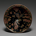 A russet-splashed black-glazed bowl, northern song-jin dynasty, 11th-12th century
