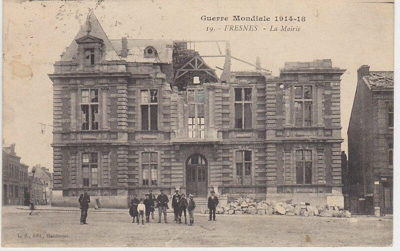 Fresnes La Mairie Guerre Mondiale 1914 18