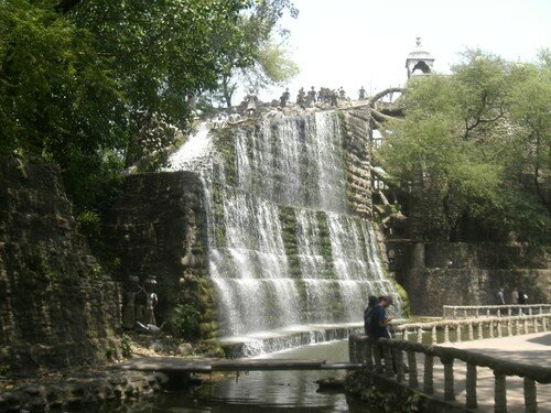 Chandigarh, Nek Chand Rock Garden, fontaine