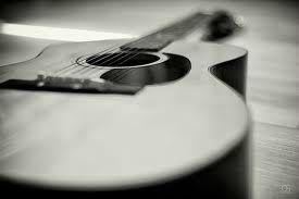 guitare à plat