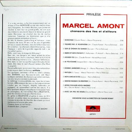 1966 POLYDOR 657 015 VERSO