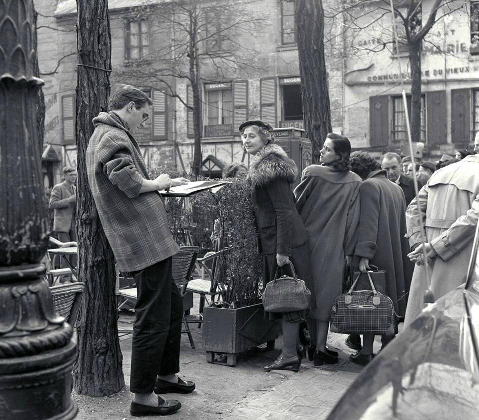 montmartre 1953