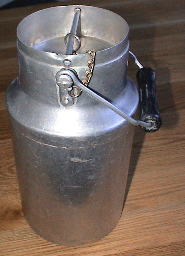 pot 224 lait aluminium 1 5l ma brocante vintage