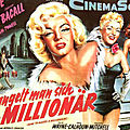 Les affiches de how to marry a millionaire