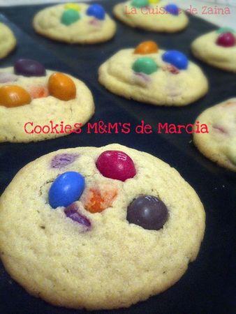 cookies M&M's