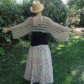 Tuto : cache epaules avorio! (crochet, facile!)