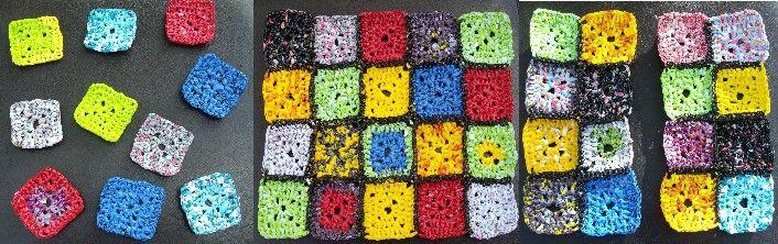carrés crochet