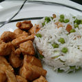 Wok de poulet savoureux