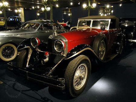Mercedes Benz 710 ss cabriolet 1929 Muse National de l'Automobile de Mulhouse, collection Schlumpf 1