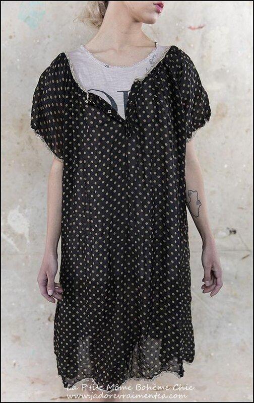Georgette Vita Dress 360-Lulu noir à pois beige.01.jpg