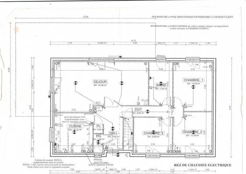 Renseignements techniques vente maison lintot les bois 76590 for Plan maison avec combles