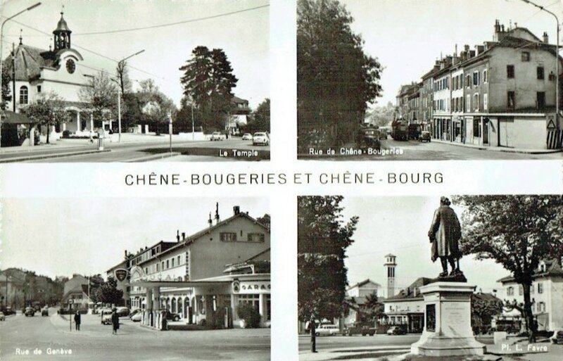 CPSM Chêne-Bougeries