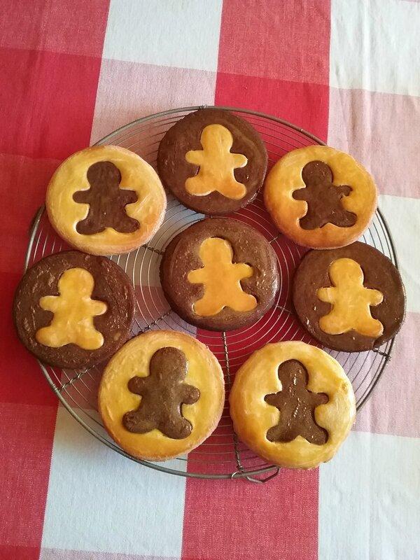 Biscuits Bonhomme vanille chocolat 043