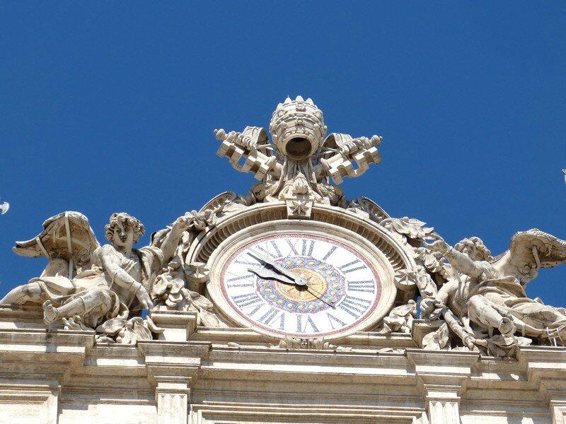 L'horloge de la basilique