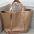 Dernières créations de sacs en simili cuir
