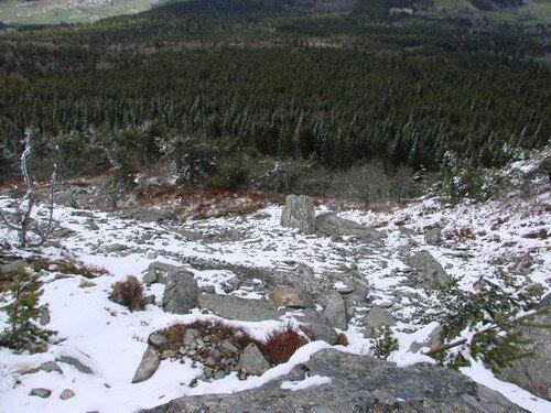 2008 04 14 La neige au Lizieux
