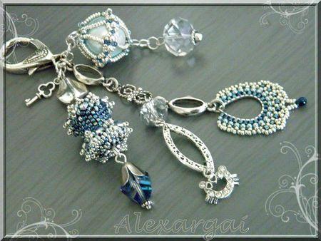 Argent et bleu