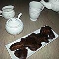 Brownies aux noix de pecan de cyril lignac
