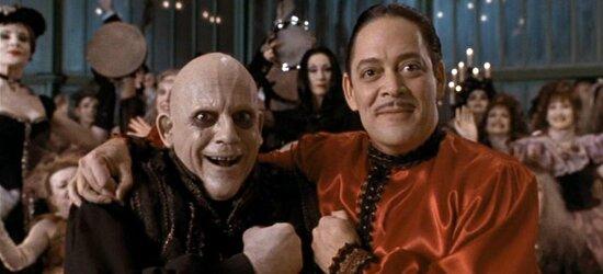 Oncle Fétide et Gomez Addams