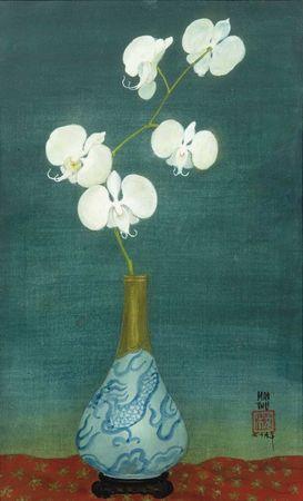 mai_trung_thu_1906_1980_orchidees_dans_un_vase_1340025758404236