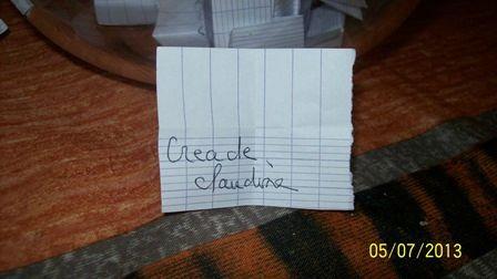 003 TIRAGE CREADECLAUDINE