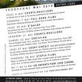 Programme mai 2010
