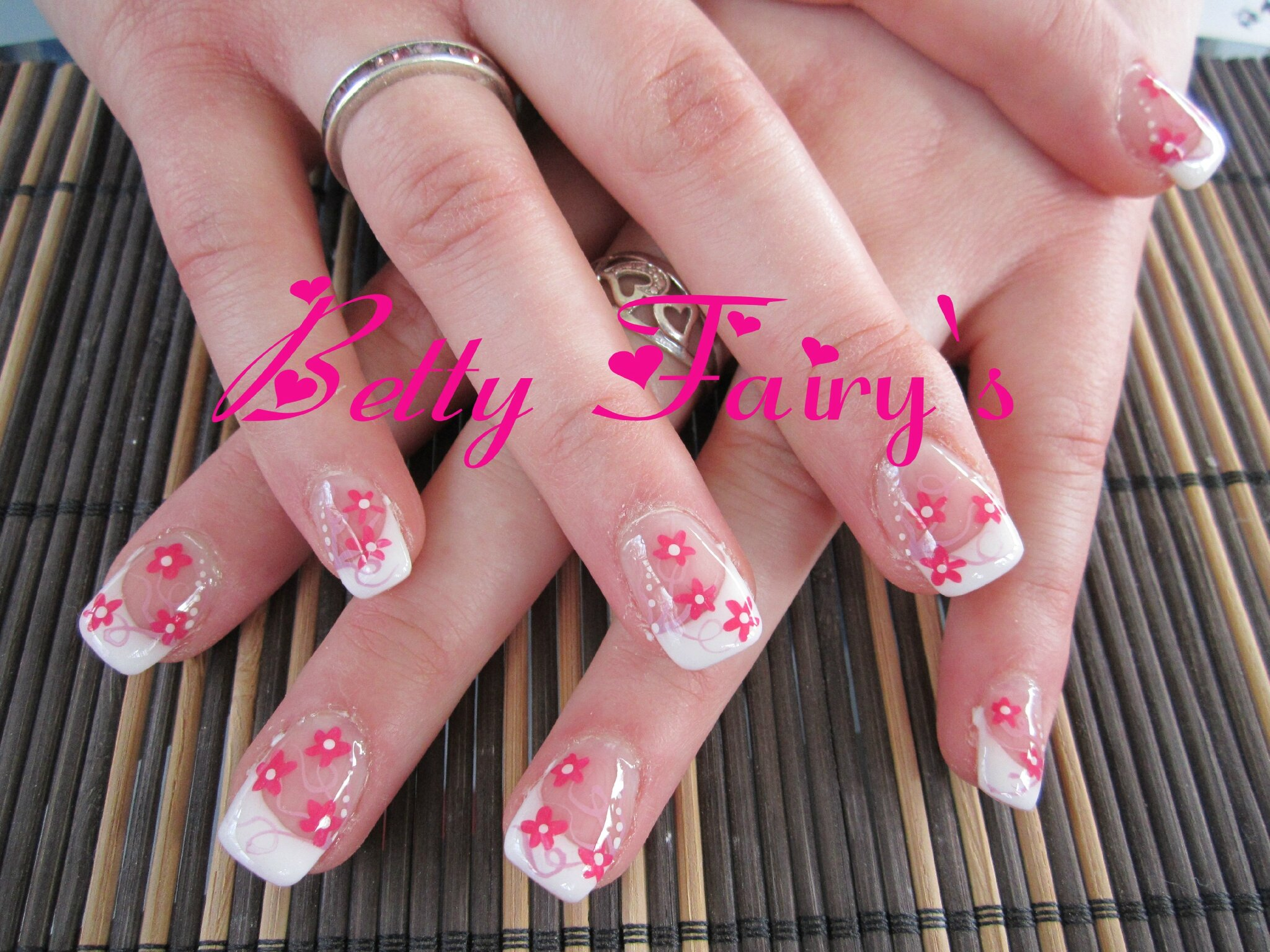 deco ongles gel printemps