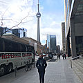 La tour cn ou cn tower de toronto !