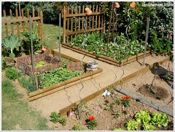 Best Bordure Jardin Potager Photos - Antoniogarcia.info ...
