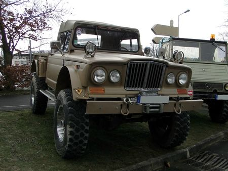 kaiser jeep m715, 1967 1969, salon champenois reims 2013 4