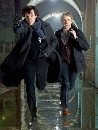 Sherlock-Benedict-Cumberbatch-+-Martin-Freeman