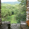 Bonampak - View direction Grand Plaza between Building 8 and 7