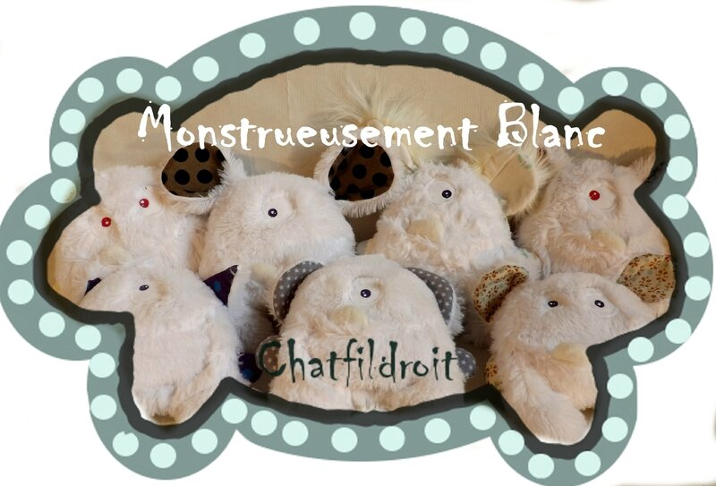 monstrueusement blanc