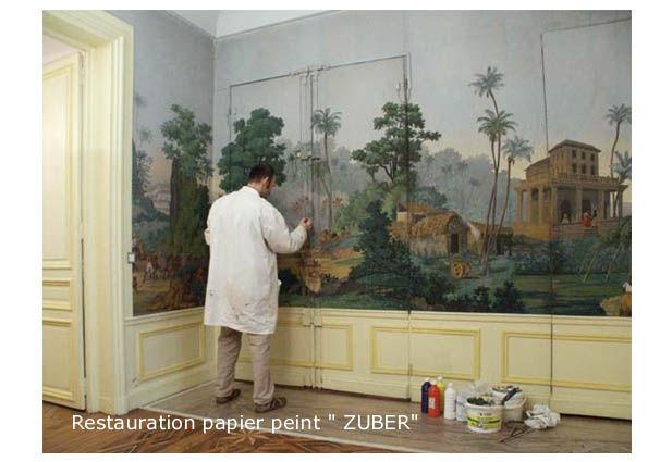 restauration zuber photo de toiles peintes peinture. Black Bedroom Furniture Sets. Home Design Ideas