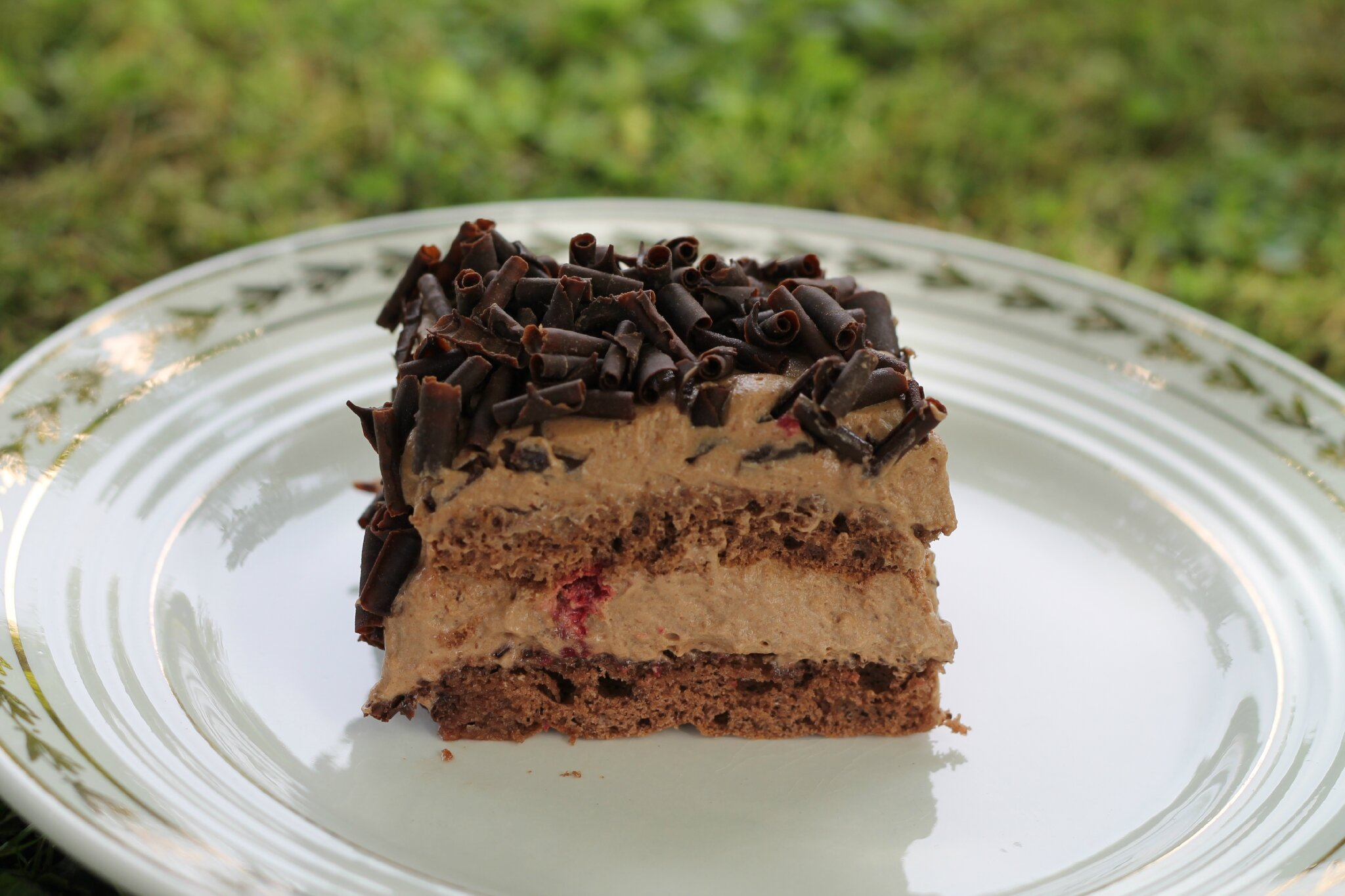 Le chocolat/framboises de C.Felder