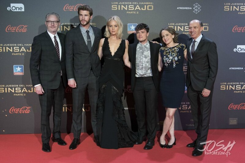 Hunger Games Mockingjay Part 2 Madrid Premiere 03